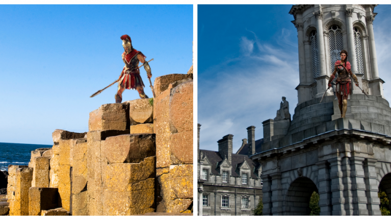 What it would look like if there was an Assassin's Creed based in Ireland