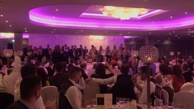 WATCH: Heartfelt wedding speech in Sligo turns into huge musical number
