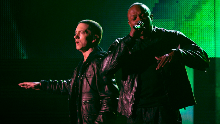 Eminem and Dr. Dre might be releasing new music this week