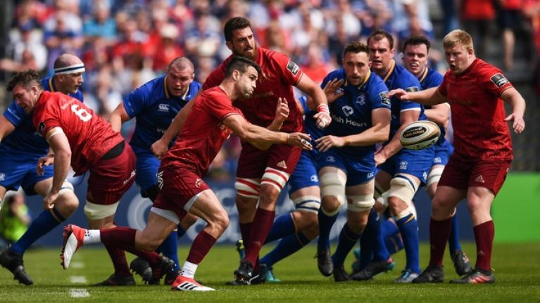 """Leinster are a better team than us"" - Conor Murray on Munster's greatest rivalry"