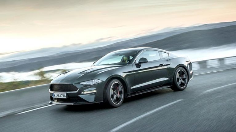 JOE drives the Ford Mustang BULLITT: Never has driving on the 'wrong' side of the road felt so right