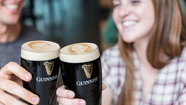 here s how you can get your own face on a pint of guinness joe is