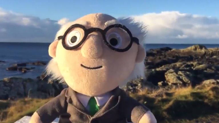 This Michael D. Higgins teddy is going to be an absolute hit