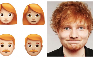 The ginger emojis are finally here for iPhone users