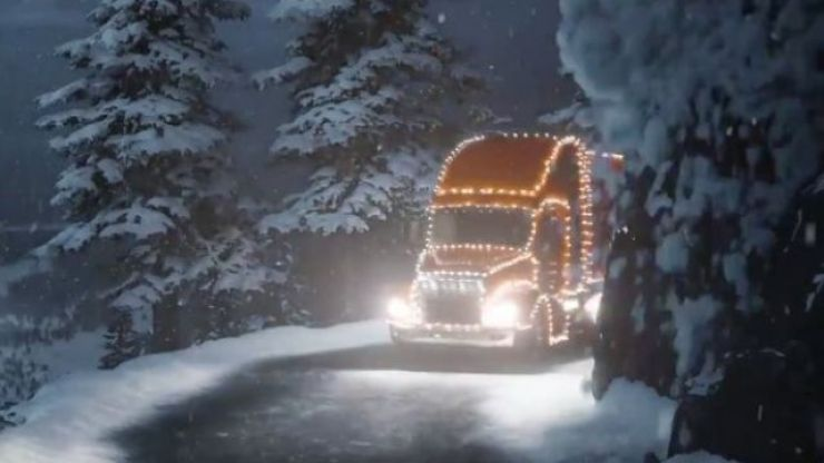 Coca-Cola have responded to Aldi's very familiar looking Christmas ad