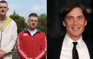 There is a huge love-in between Cillian Murphy and The Young Offenders stars
