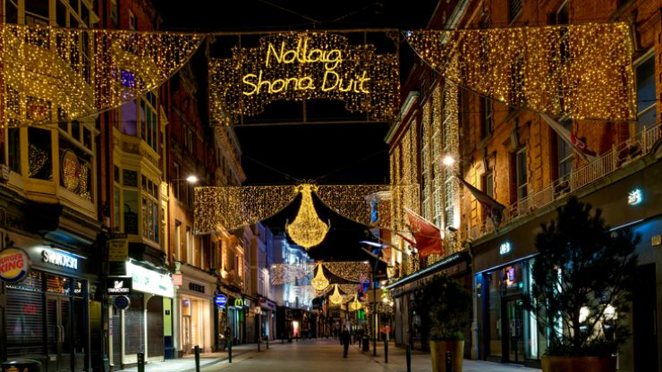 """Dublin Town CEO """"surprised"""" by 'Welcome to Grafton Quarter' Christmas lights backlash"""