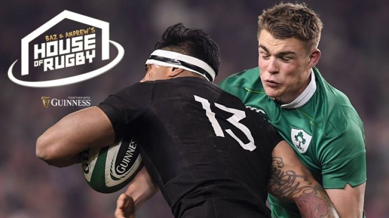 Baz & Andrew's House of Rugby goes LIVE ahead of Ireland vs. All Blacks, and we've match tickets to give away