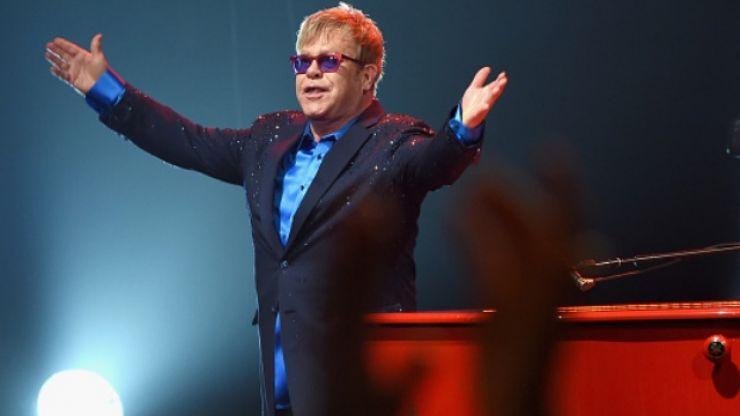 Elton John blasts Russian film company's decision to cut gay sex scenes from Rocketman