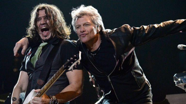Bon Jovi announce second Dublin date due to phenomenal demand