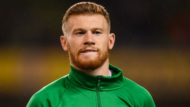 James McClean was sent death threats and vicious packages in the post following his poppy stance
