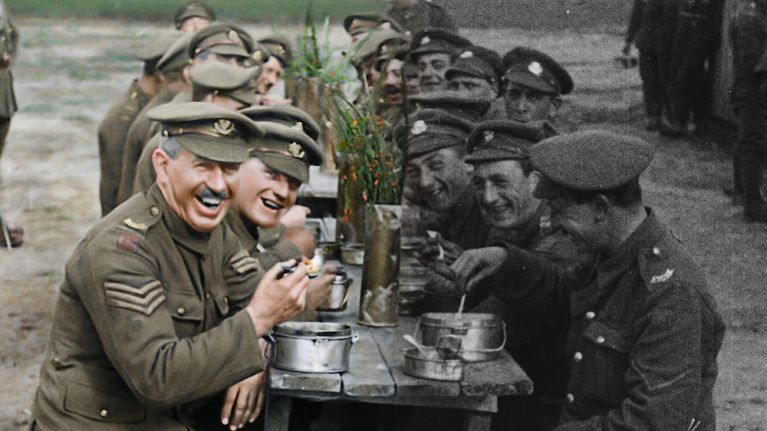 Peter Jackson's incredible World War I documentary has a limited run in Irish cinemas this weekend