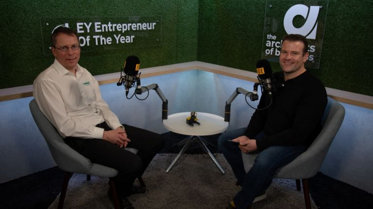 Monaghan entrepreneur Martin McVicar eyes a 'billion dollar business' within 5 years