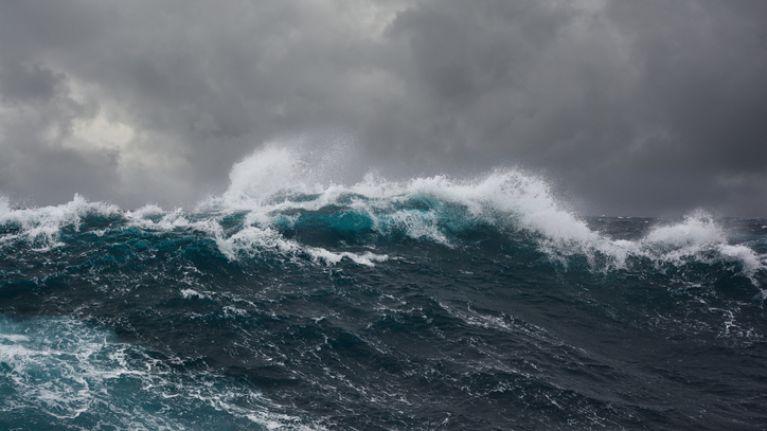 Status orange gale warning issued off the coast of Ireland