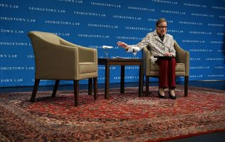 Supreme Court Justice Ruth Bader Ginsberg hospitalised with fractured ribs