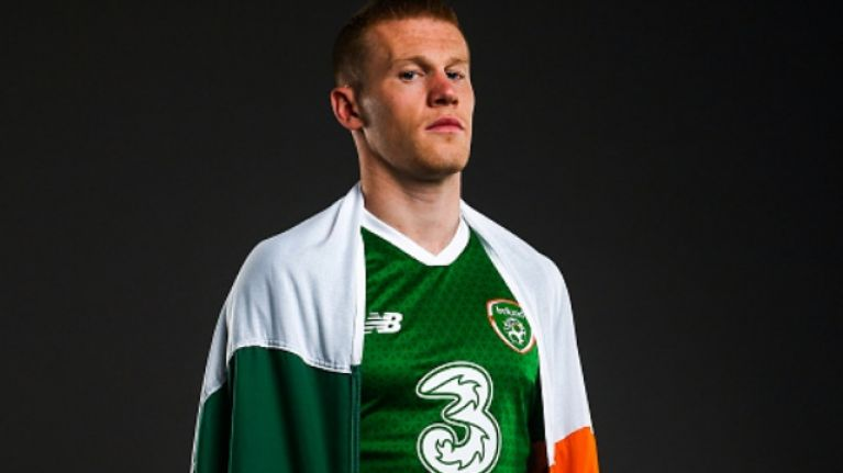 James McClean shares a disgusting, racist, and hate-filled birthday card he received (NSFW)