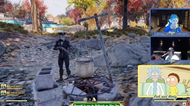 WATCH: Rick and Morty played the new Fallout 76 for nearly