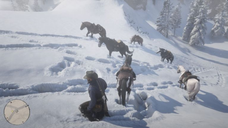 """Have you found """"The Wolf Man"""" in Red Dead Redemption 2 yet? This is how"""