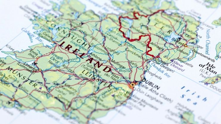 Map Of Ireland As Gaeilge.Gaeilge Life Joe Is The Voice Of Irish People At Home And Abroad