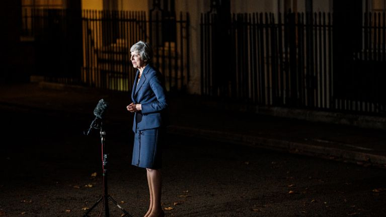 """British politician claims Theresa May's party has """"effectively ripped apart the Good Friday Agreement"""""""