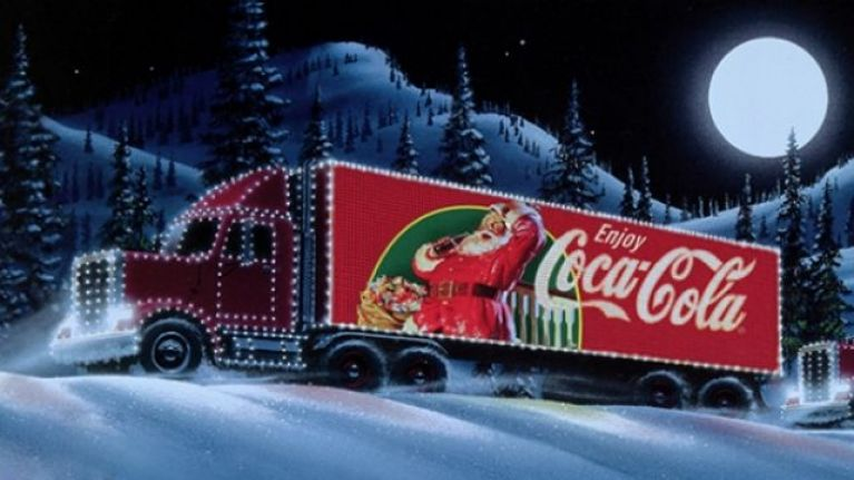 Coke Christmas Ads.The Coke Ad Played During I M A Celebrity And People