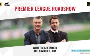 Tim Sherwood & David O'Leary will host a live Premier League panel this month