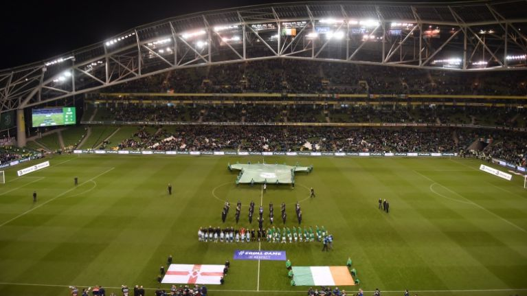 """Ministers brand Irish soccer fans who booed UK anthem as """"idiots"""""""