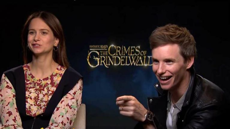 WATCH: The stars of The Crimes Of Grindelwald chat about filming Fantastic Beasts 3 in Rio de Janeiro