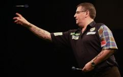 WATCH: Dart player vehemently denies farting on stage during game in bizarre post-match interview