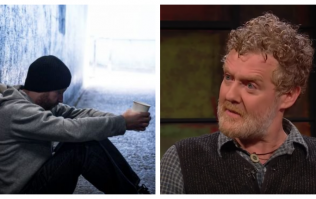 Glen Hansard was extremely critical of the Government and their handling of the homeless crisis