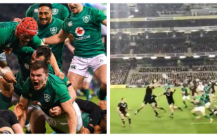 WATCH: Jacob Stockdale's superb try gets even better with this brilliant footage from the stands