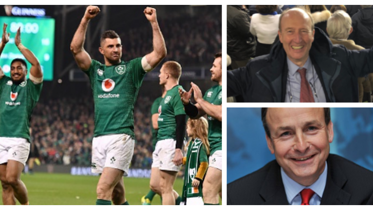 Shane Ross and Micheál Martin both send incredibly embarrassing messages to the Irish team after their win