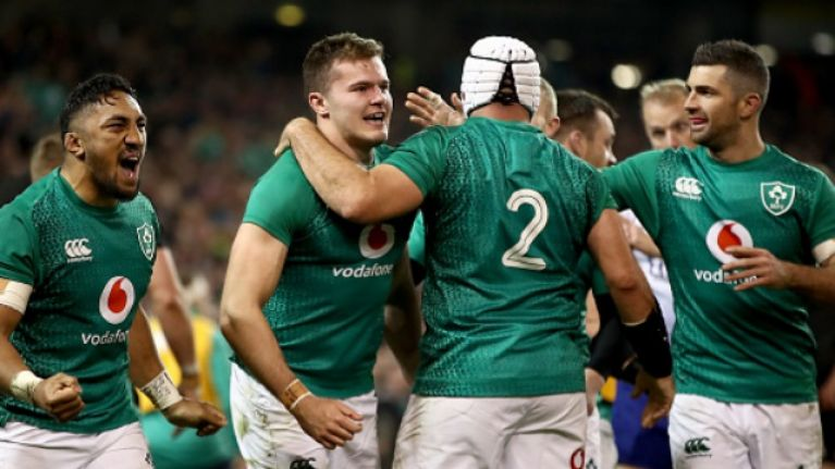 The New Zealand press were absolutely glowing in their praise of Ireland