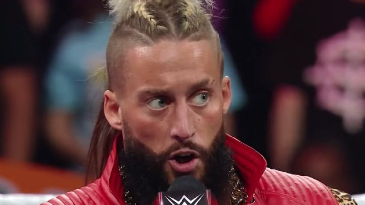 Ex-WWE star Enzo Amore turns up in disguise at Survivor Series, makes a show of himself, gets thrown out
