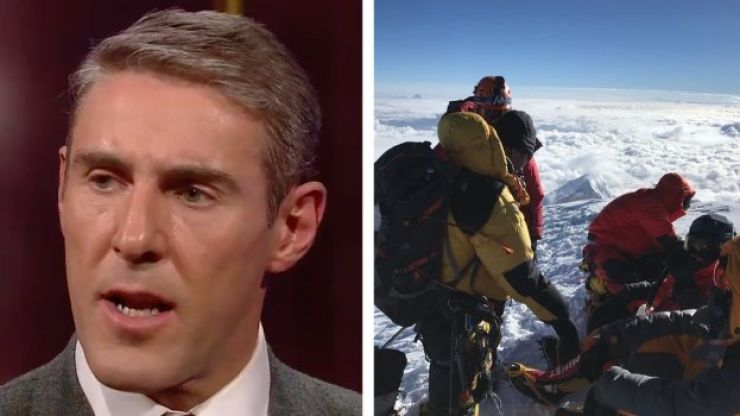 Donegal mountaineer Jason Black highlighted the dangers of scaling K2 on the Ray D'Arcy Show