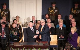 Michael D. Higgins officially sworn in for second term as President of Ireland