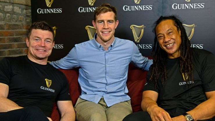 Andrew Trimble's claim about Tana Umaga spear tackle had Brian O'Driscoll in convulsions