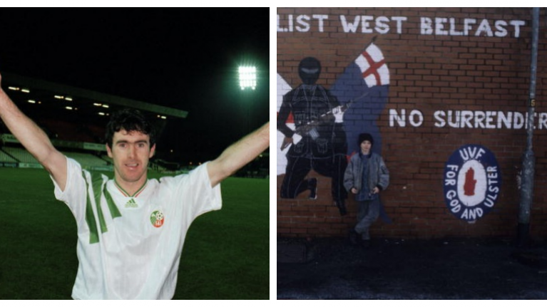 RTÉ's documentary on the history of football and political division in Ireland looks excellent