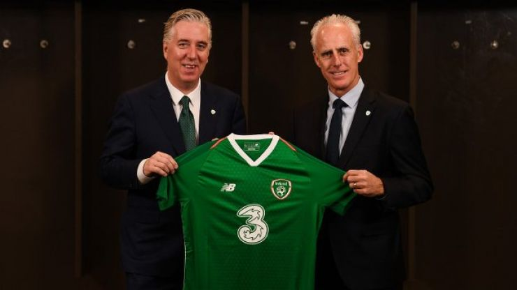 OFFICIAL: Mick McCarthy has been named as Republic of Ireland manager