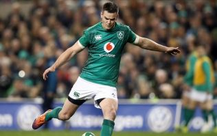 Johnny Sexton crowned World Player of the Year at World Rugby Awards