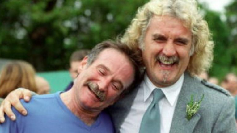 There's a documentary about the brilliant Billy Connolly on TV this Christmas