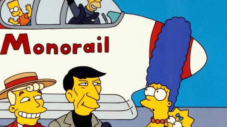 The iconic Monorail episode of The Simpsons was almost very different