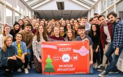 DCU students raise nearly €9,000 for charity following annual 24-hour broadcast