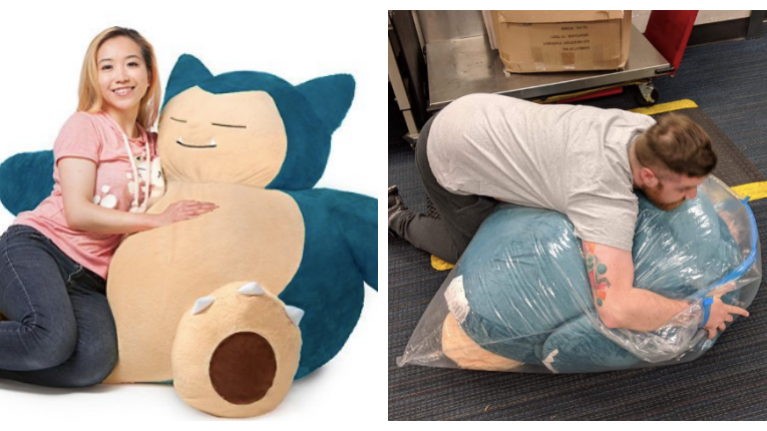 Drunk man buys a gigantic Pokémon after having a few, epic quest to get Snorlax delivered starts