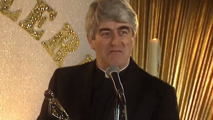 QUIZ: How well do you remember Ted's Golden Cleric speech in the Father Ted Christmas special?