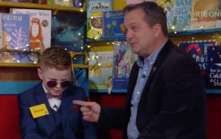Michael meeting his hero Davy Fitz is what the Toy Show is all about