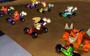 It looks a CTR: Crash Team Racing remake is going to be announced very soon