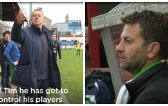 WATCH: Tim Sherwood & David O'Leary took over Irish junior teams for a day and it got competitive