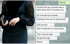 This girl's story of a bad first date is as morbid as you'll hear