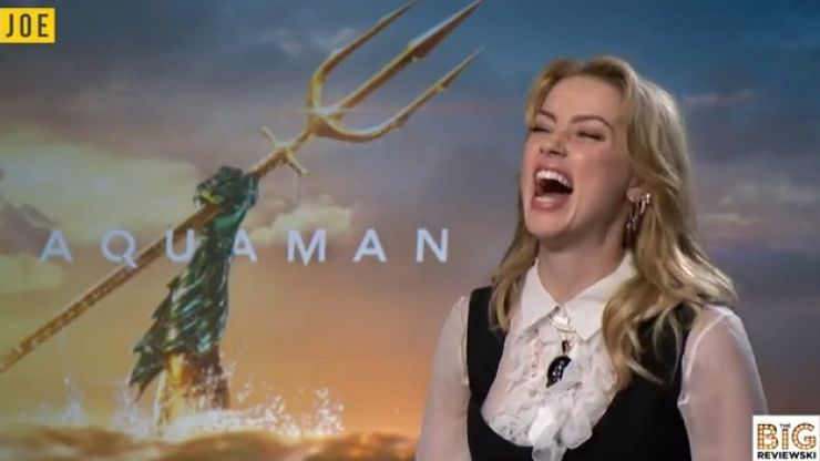 """EXCLUSIVE: Amber Heard on DC's representation of women and being """"Ireland's national treasure"""""""